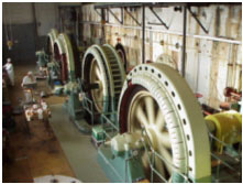 Hydro turbine hall